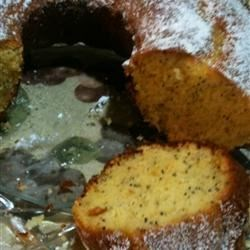 Poppy Seed Bundt Cake II Recipe