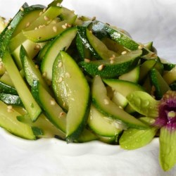 Asian-Style Zucchini Recipe
