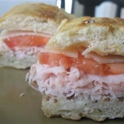 Photo of Tangy Turkey and Swiss Sandwiches by Annie