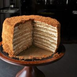 russian honey cake printer friendly