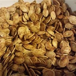 Sweet Vanilla Cinnamon Pumpkin Seeds Recipe