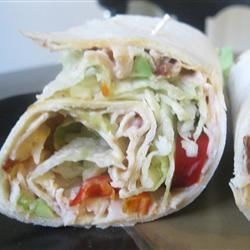 Spicy Chipotle Turkey Wraps  Recipe