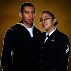 me and my fiance.
