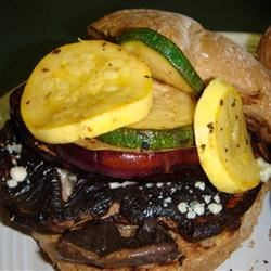 Photo of Grilled Veggie-Portobello Mushroom Burgers by PaulaM