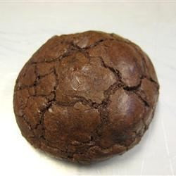 a perfect truffle cookie