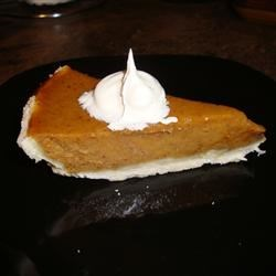 Sara's Pumpkin Pie Recipe