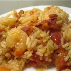 Island Shrimp and Rice