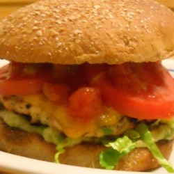 Green Chili Chicken Burgers Recipe