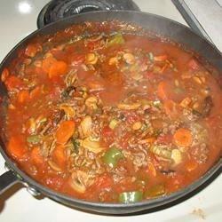 Super chunky spaghetti sauce