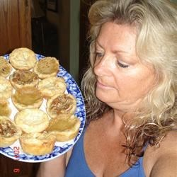 homemade assorted tarts