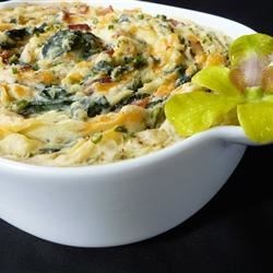 Sally's Spinach Mashed Potatoes