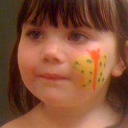 Face paint at the Fair