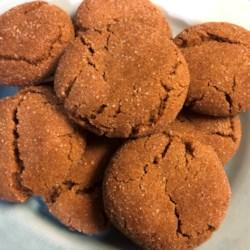 grandmas gingersnap cookies printer friendly