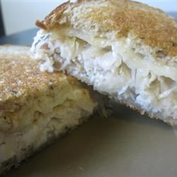 Grilled Turkey Reubens Recipe