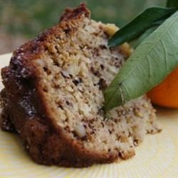 Orange Raisin Cake