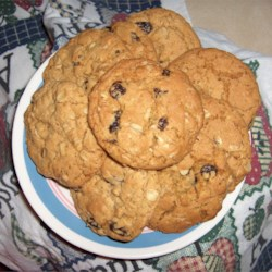 Grandmother's Oatmeal Cookies Recipe