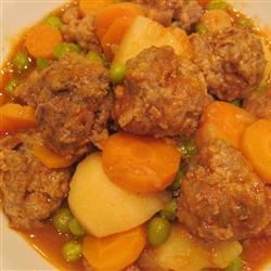 Vegetable Meatball Stew