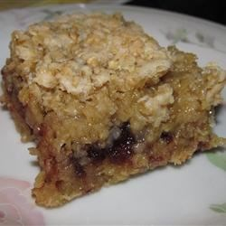 Cranberry Crunch Squares Recipe
