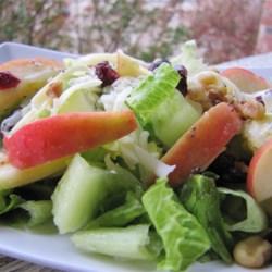 winter fruit salad with lemon poppyseed dressing printer