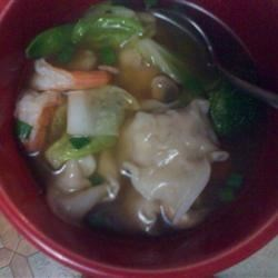 My won ton soup!