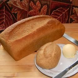Grandma Cornish's Whole Wheat Potato Bread