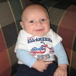 My little man Michael