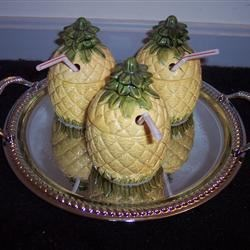 Fresh Pineapple Coolers Recipe