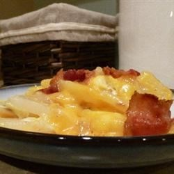 Cheesy Fried Potatoes Recipe