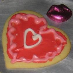 Delilah's Frosted Cut-Out Sugar Cookies Recipe