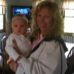 Great grandbaby and me