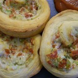 Pinwheel Italian Calzones