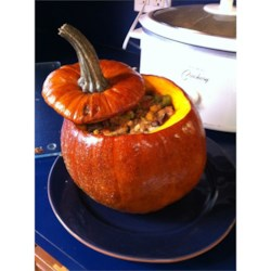 Photo of Thanksgiving Stuffed Pumpkin by CRE8IVEONE