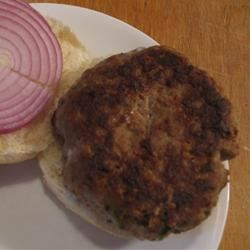 Mushroom Blue Cheese Turkey Burger
