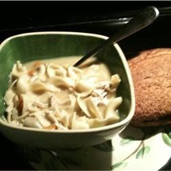 Photo of Creamy Chicken Noodle Soup by Campbell's Kitchen