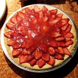 Strawberry Cheese Pie Recipe