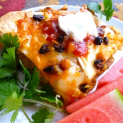 Bean and Honey Burrito Casserole Recipe