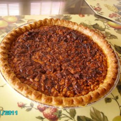 English Walnut Pie Recipe