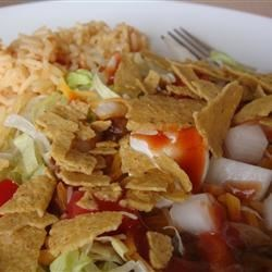 lazy katies taco salad photos