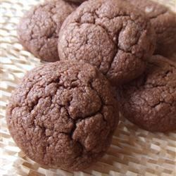 Photo of Old Fashioned Fudge Cookies by Sally