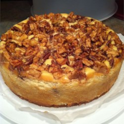 Nickie's Apple-Pecan Cheesecake Recipe