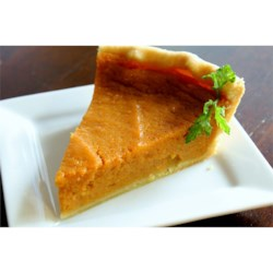 Sweet Potato Pie VII Recipe