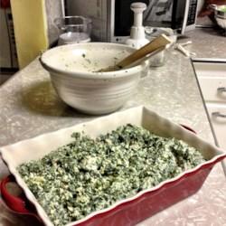 amazing spinach artichoke casserole printer friendly