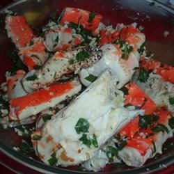 Marinated Crab Legs Recipe