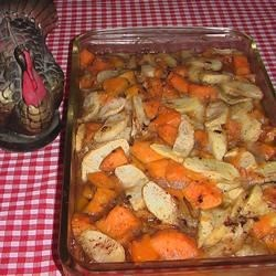 Yam and Apple Casserole Recipe