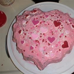 Valentine Heart Cake Recipe