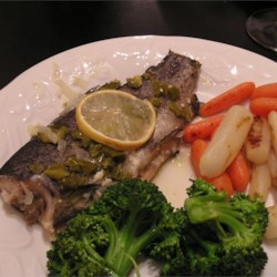 Krazy Garlic Trout Recipe