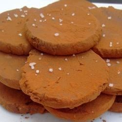 Caramel Sea Salt Dark Chocolate Coins Recipe