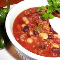 Debdoozie's Blue Ribbon Chili