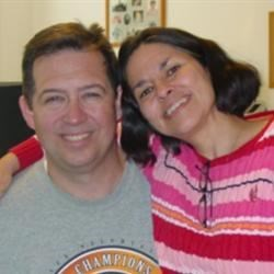 Debbie with husband, Phil