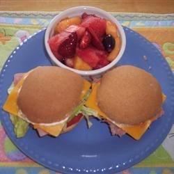 Honey Wheat Sandwich Rolls